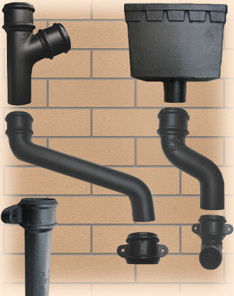 65mm Cast Iron Downpipe System