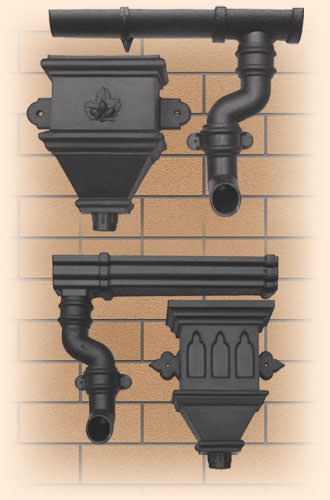 Gutter Systems from Cast Iron Gutter